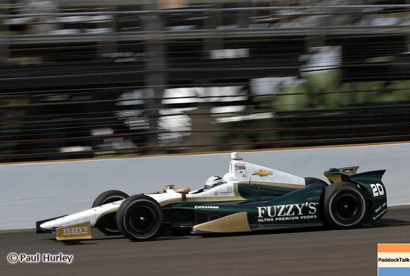 May 12: Ed Carpenter during practice for the 97th Indianapolis 500 at the Indianapolis Motor Speedway.