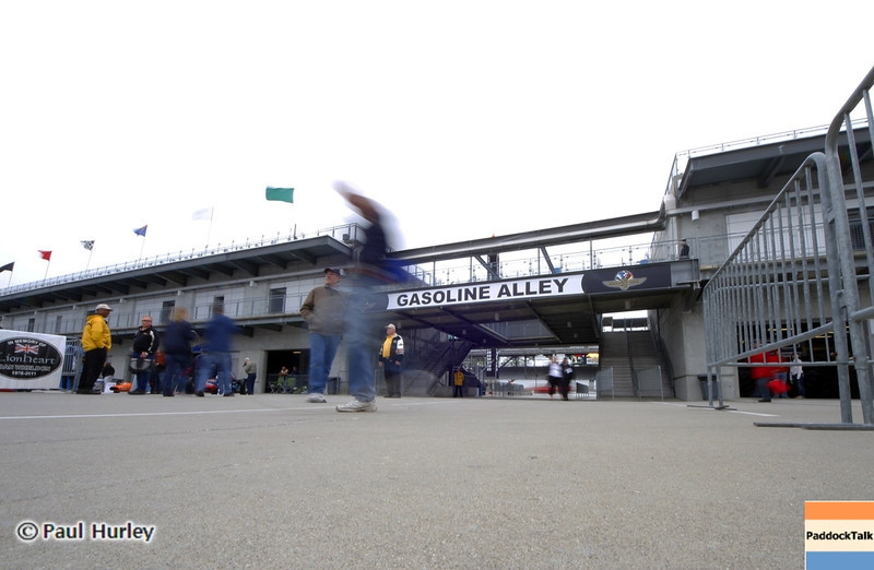 May 11: Gasoline Alley during practice for the 97th Indianapolis 500 at the Indianapolis Motor Speedway.