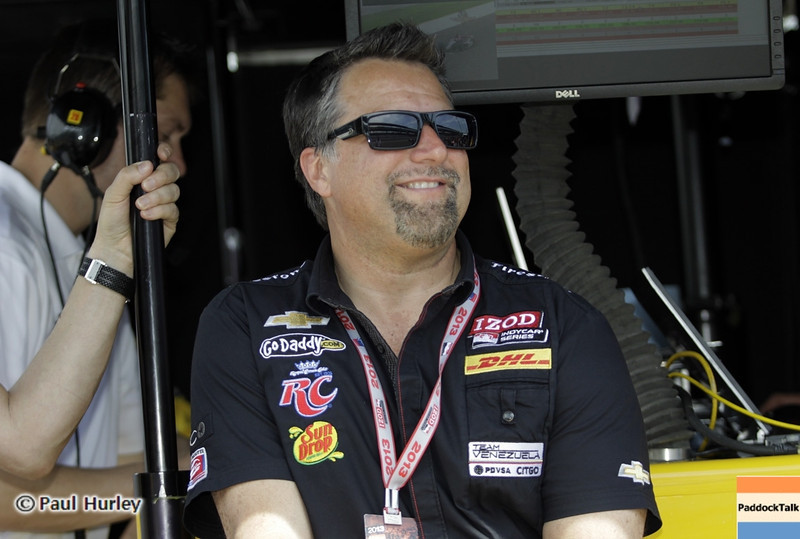 May 15: Michael Andretti during practice for the 97th Indianapolis 500 at the Indianapolis Motor Speedway.