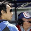 May13: Takuma Sato and A.J. Foyt during practice for the 97th Indianapolis 500 at the Indianapolis Motor Speedway.