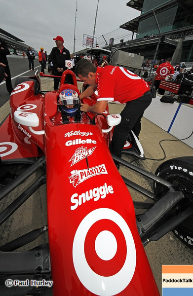 May 11: Scott Dixon during practice for the 97th Indianapolis 500 at the Indianapolis Motor Speedway.