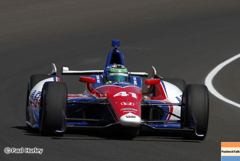 May13: Conor Dailey during practice for the 97th Indianapolis 500 at the Indianapolis Motor Speedway.