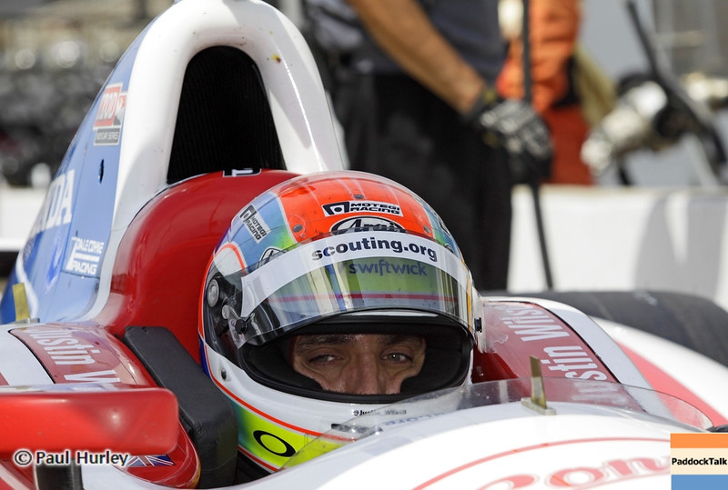 May 15: Justin Wilson during practice for the 97th Indianapolis 500 at the Indianapolis Motor Speedway.