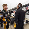 May 11: Josef Newgarden during practice for the 97th Indianapolis 500 at the Indianapolis Motor Speedway.