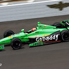 May 17: James Hinchcliffe during practice for the 97th Indianapolis 500 at the Indianapolis Motor Speedway.