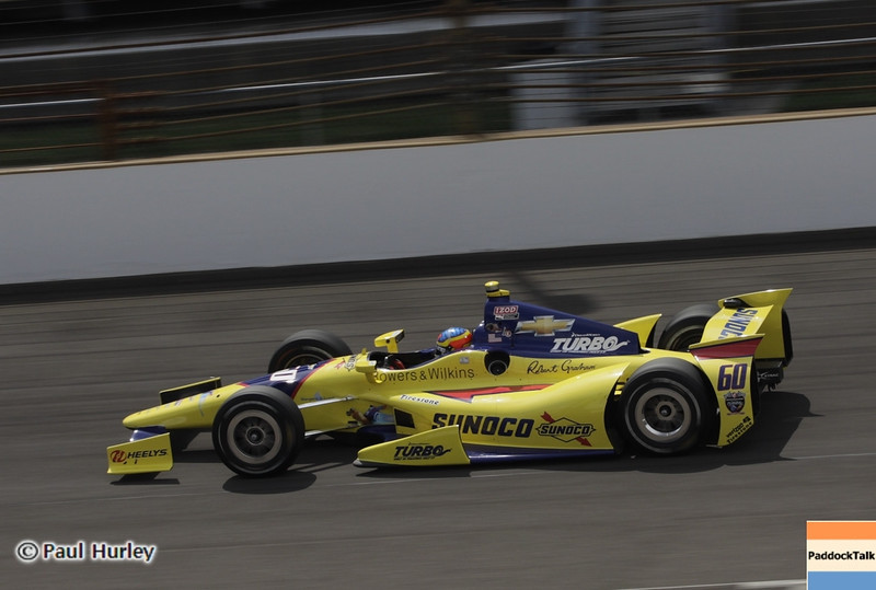 May 15: Townsend Bell during practice for the 97th Indianapolis 500 at the Indianapolis Motor Speedway.