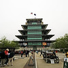 May 11: Pagoda Plaza during practice for the 97th Indianapolis 500 at the Indianapolis Motor Speedway.