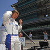May 15: Ryan Briscoe during practice for the 97th Indianapolis 500 at the Indianapolis Motor Speedway.
