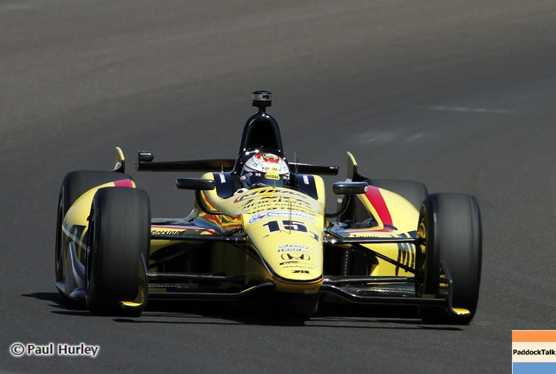 May13: Graham Rahal during practice for the 97th Indianapolis 500 at the Indianapolis Motor Speedway.