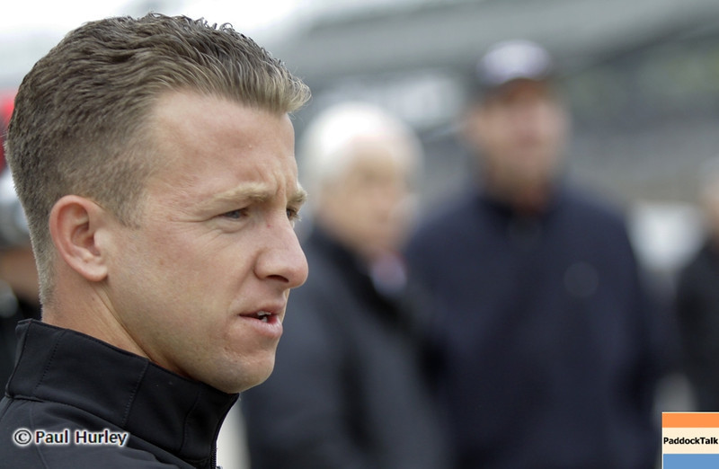 May 11: A.J Allmendinger during practice for the 97th Indianapolis 500 at the Indianapolis Motor Speedway.