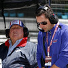 May13: A.J. and Larry Foyt during practice for the 97th Indianapolis 500 at the Indianapolis Motor Speedway.