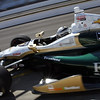May 14: Ed Carpenter during practice for the 97 Indianapolis 500 at the Indianapolis Motor Speedway.