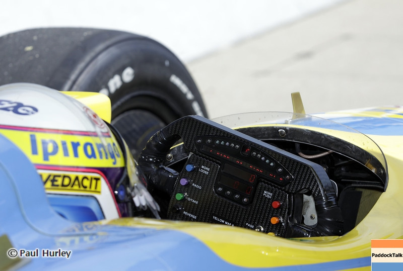 May 15: Ana Beatriz during practice for the 97th Indianapolis 500 at the Indianapolis Motor Speedway.