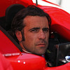 May13: Dario Franchitti during practice for the 97th Indianapolis 500 at the Indianapolis Motor Speedway.