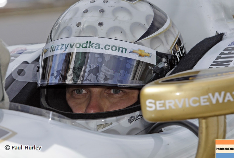 May 15: Ed Carpenter during practice for the 97th Indianapolis 500 at the Indianapolis Motor Speedway.