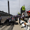 May 15: Tony Kanaan during practice for the 97th Indianapolis 500 at the Indianapolis Motor Speedway.