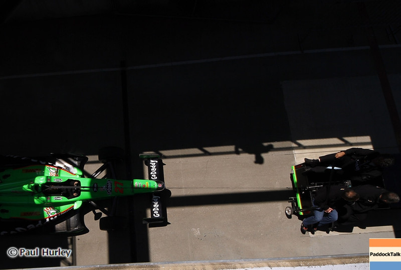 May13: James Hinchcliffe during practice for the 97th Indianapolis 500 at the Indianapolis Motor Speedway.