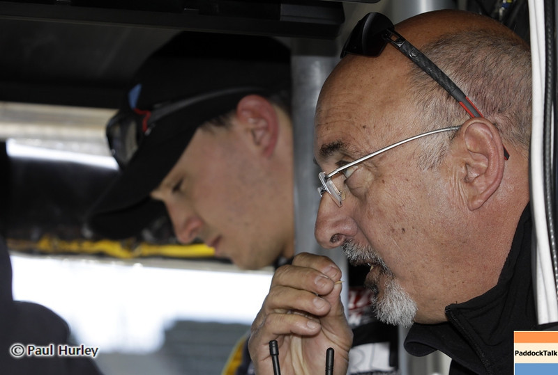 May13: Graham and Bobby Rahal during practice for the 97th Indianapolis 500 at the Indianapolis Motor Speedway.