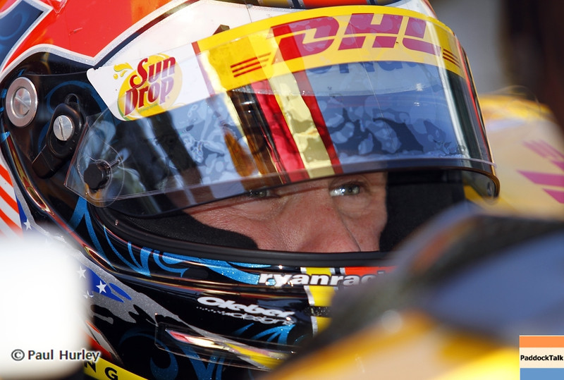 May13: Ryan Hunter-Reay during practice for the 97th Indianapolis 500 at the Indianapolis Motor Speedway.