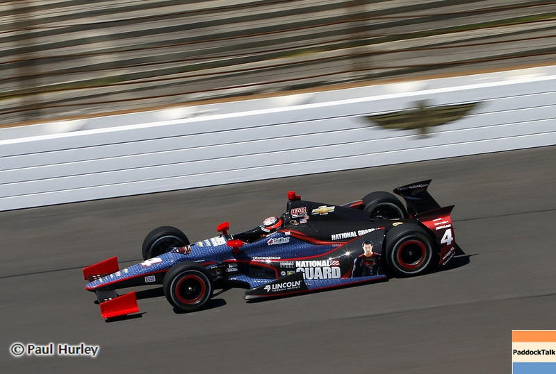 May13: J.R. Hildebrand during practice for the 97th Indianapolis 500 at the Indianapolis Motor Speedway.