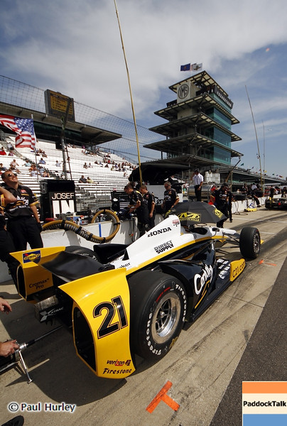 May 15: Josef Newgarden during practice for the 97th Indianapolis 500 at the Indianapolis Motor Speedway.