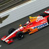 May 17: E.J. Viso during practice for the 97th Indianapolis 500 at the Indianapolis Motor Speedway.