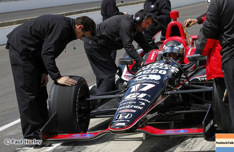 May 12: Michel Jourdain Jr. during practice for the 97th Indianapolis 500 at the Indianapolis Motor Speedway.
