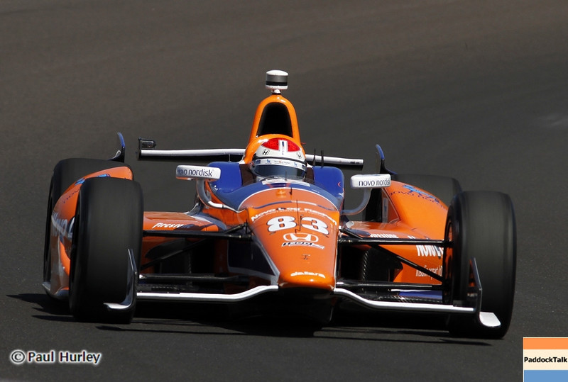 May13: Charlie Kimball during practice for the 97th Indianapolis 500 at the Indianapolis Motor Speedway.