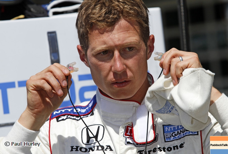 May13: Ryan Briscoe during practice for the 97th Indianapolis 500 at the Indianapolis Motor Speedway.