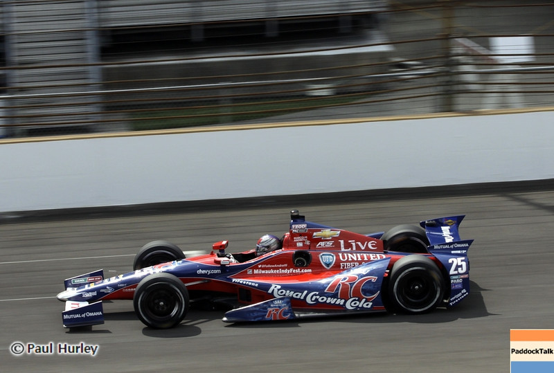 May 15: Marco Andretti during practice for the 97th Indianapolis 500 at the Indianapolis Motor Speedway.