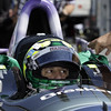 May 14: Tony Kanaan during practice for the 97 Indianapolis 500 at the Indianapolis Motor Speedway.