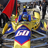 May 14: Townsend Bell during practice for the 97 Indianapolis 500 at the Indianapolis Motor Speedway.