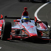 May 14: Sebastien Bourdais during practice for the 97 Indianapolis 500 at the Indianapolis Motor Speedway.
