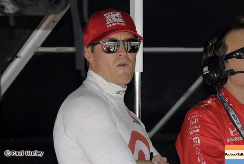 May 15: Scott Dixon during practice for the 97th Indianapolis 500 at the Indianapolis Motor Speedway.