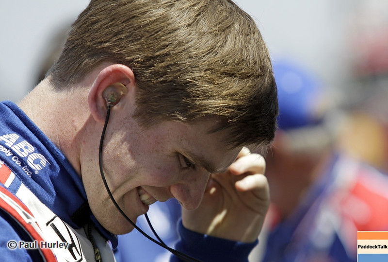 May 15: Conor Dailey during practice for the 97th Indianapolis 500 at the Indianapolis Motor Speedway.