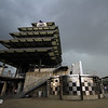 May 17: The Pagoda during practice for the 97th Indianapolis 500 at the Indianapolis Motor Speedway.