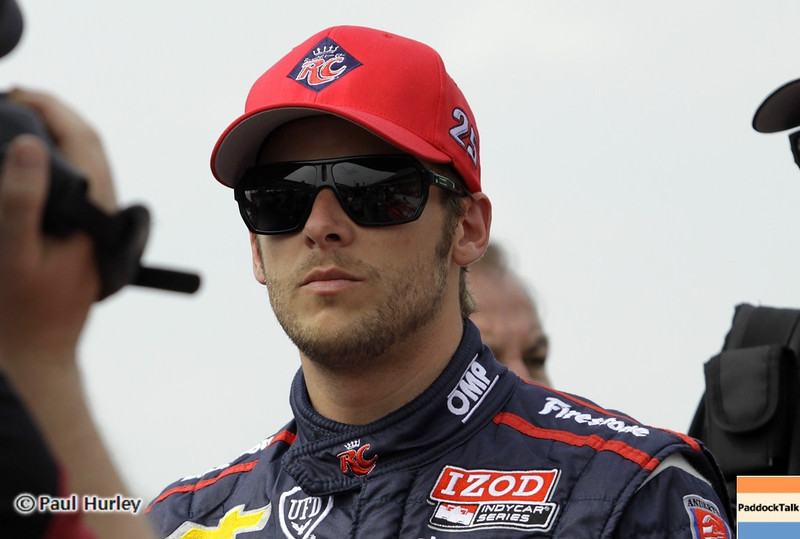 May 18: Marco Andretti during qualifications for the 97th Indianapolis 500 at the Indianapolis Motor Speedway.