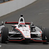 May 18: Will Power during qualifications for the 97th Indianapolis 500 at the Indianapolis Motor Speedway.