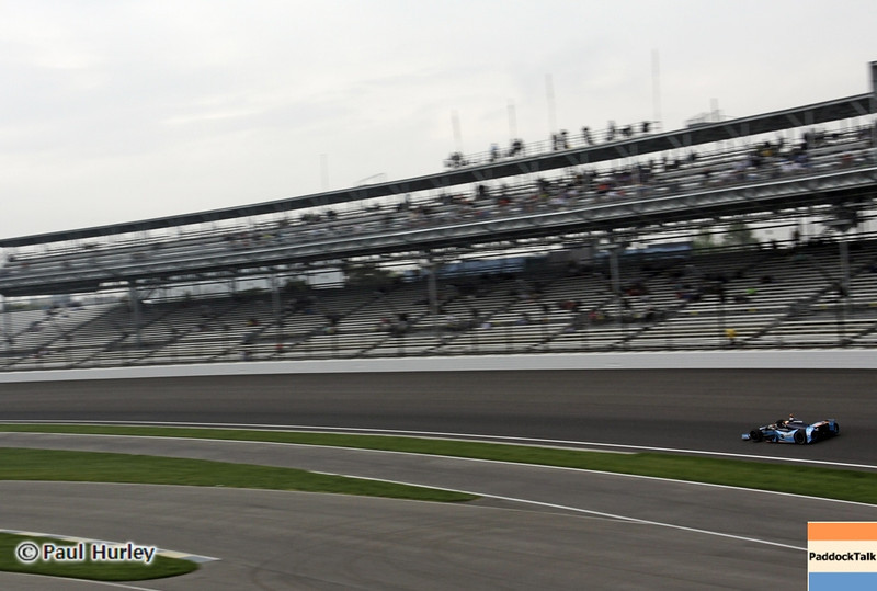May 18: Turn one during qualifications for the 97th Indianapolis 500 at the Indianapolis Motor Speedway.