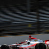 May 19: Sebastien Bourdais during qualifications for the 97th Indianapolis 500 at the Indianapolis Motor Speedway.