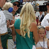 May 18: Ed Carpenter and family during qualifications for the 97th Indianapolis 500 at the Indianapolis Motor Speedway.
