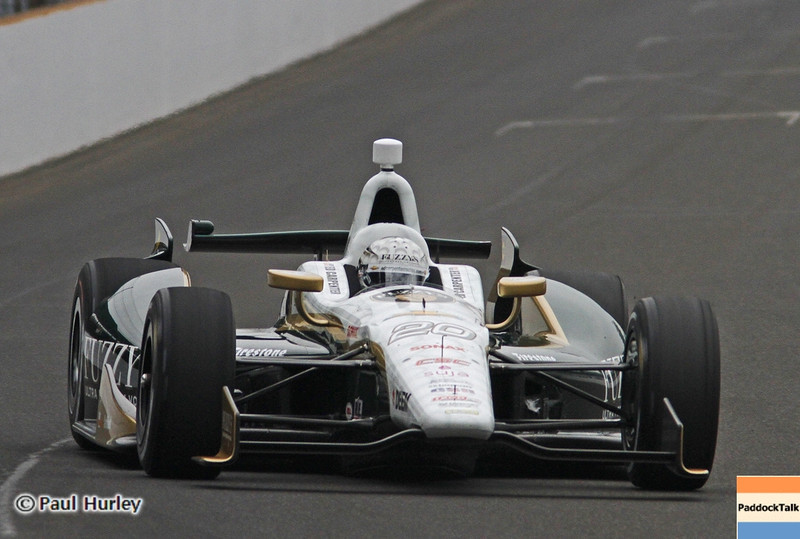 Ed Carpenter has taken the Pole for the 2013 Indianapolis 500!