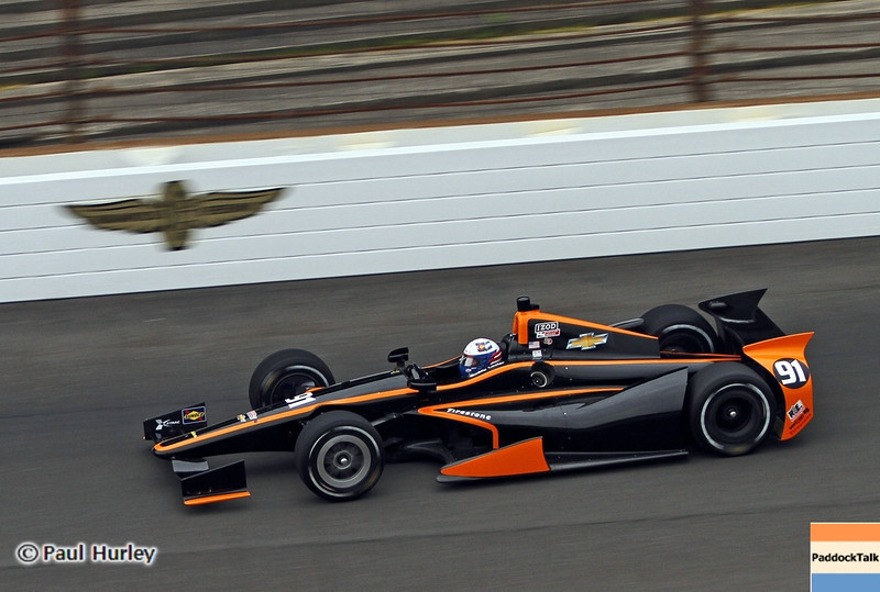 May 18: Buddy Lazier during qualifications for the 97th Indianapolis 500 at the Indianapolis Motor Speedway.
