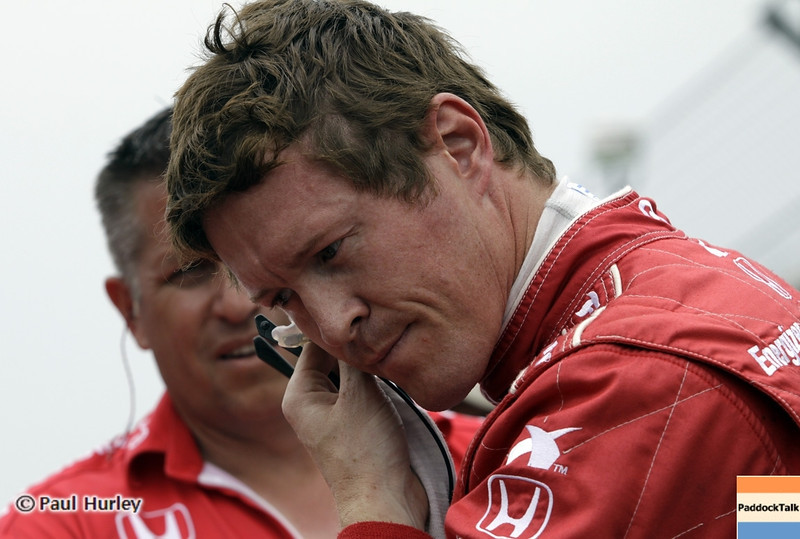 May 18: Scott Dixon during qualifications for the 97th Indianapolis 500 at the Indianapolis Motor Speedway.