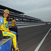 May 18: Ana Beatriz during qualifications for the 97th Indianapolis 500 at the Indianapolis Motor Speedway.