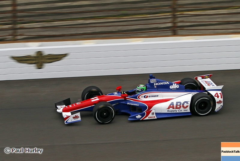 May 18: Conor Dailey during qualifications for the 97th Indianapolis 500 at the Indianapolis Motor Speedway.