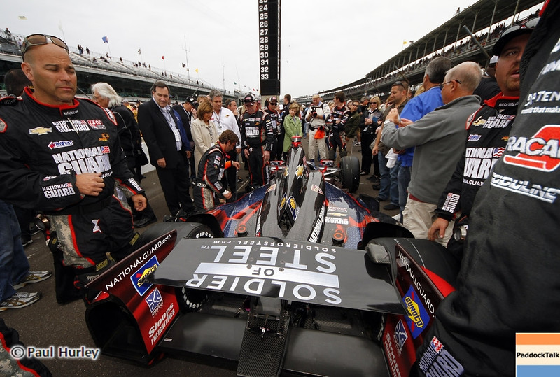 May 26: pre-race during the 97th running of the Indianapolis 500 mile race.