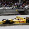 May 26: Ryan Hunter-Reay during the 97th running of the Indianapolis 500 mile race.