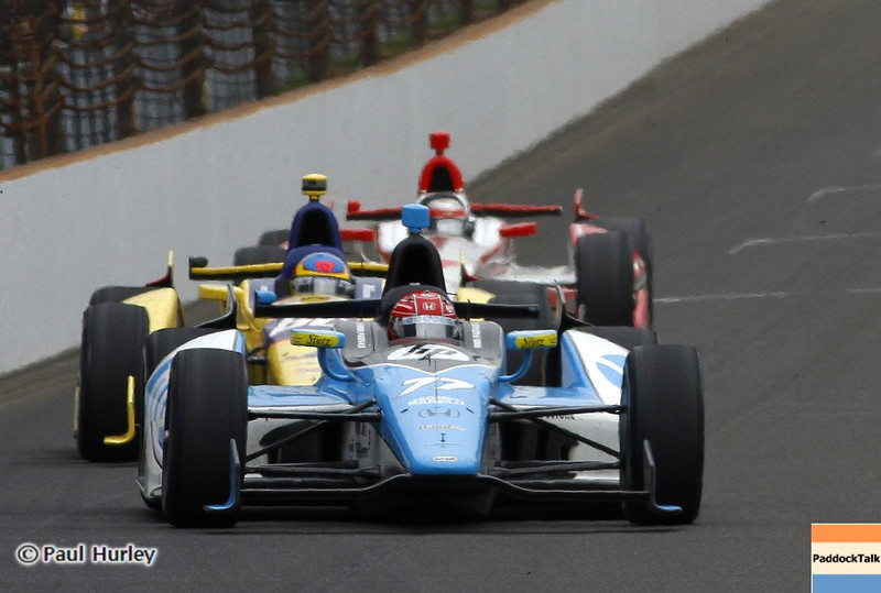 May 26: Simon Pagenaud during the 97th running of the Indianapolis 500 mile race.
