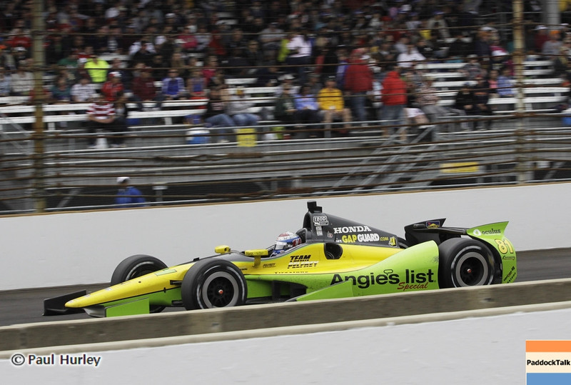 May 26: Katherine Legge during the 97th running of the Indianapolis 500 mile race.